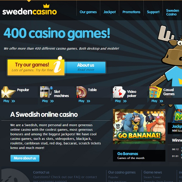 Sweden Casino Provides Swedes With Quality Gaming
