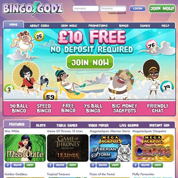 Bingo Godz Offers Heavenly Online Gaming