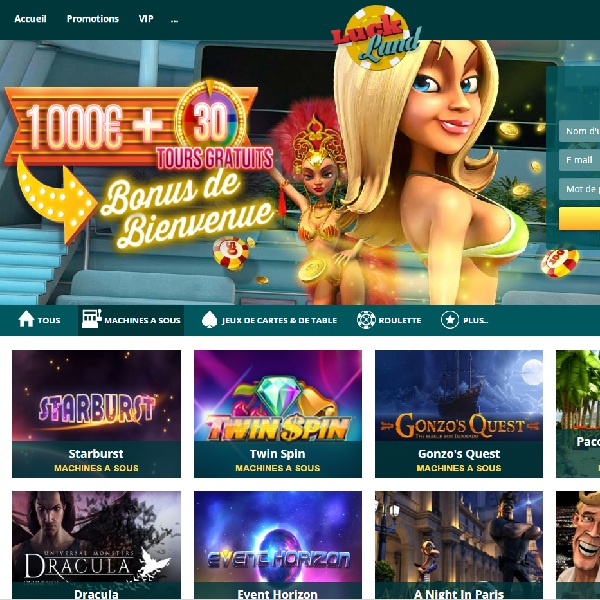 Luckland Casino Helps Players to Win