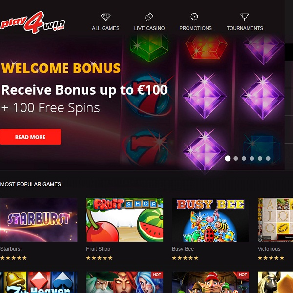 Play4Win Casino Review – A Packed Promotions Calendar