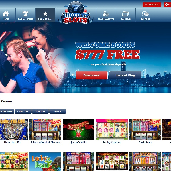 Liberty Slots Casino Brings You the Freedom to Play