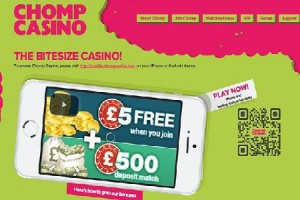 Chomp Mobile Casino Goes Live