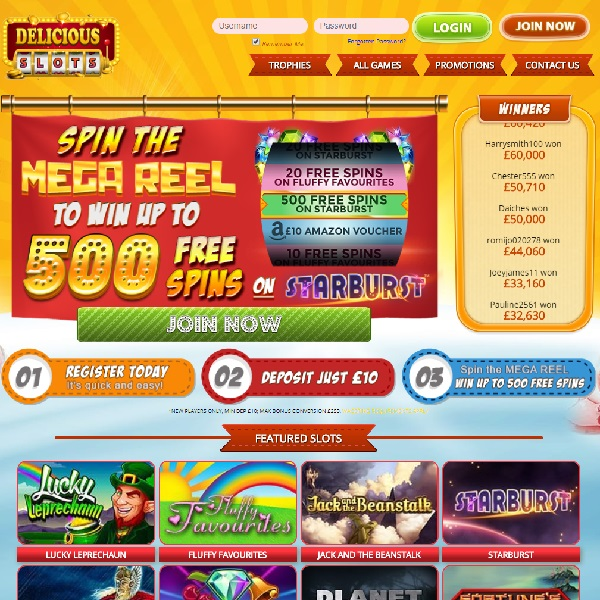 Delicious Slots Casino Will Whet Your Gaming Appetite