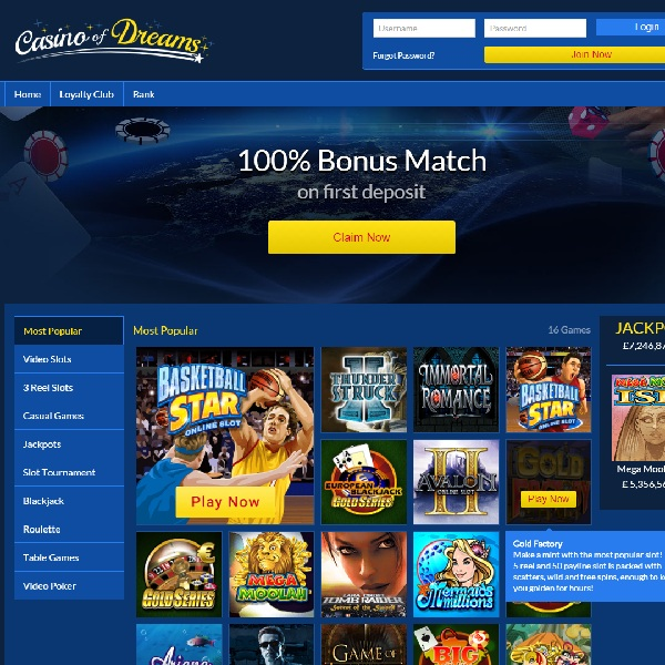 Casino of Dreams Is a Gamers Paradise