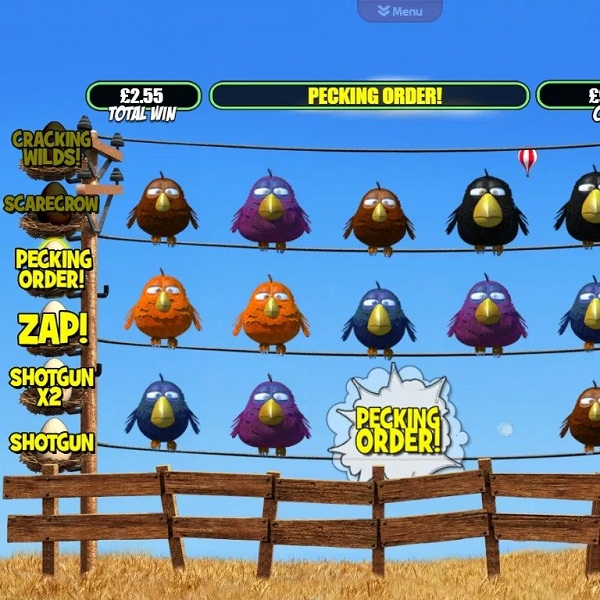 Birdz Slot Features Flying Feathery Bonuses