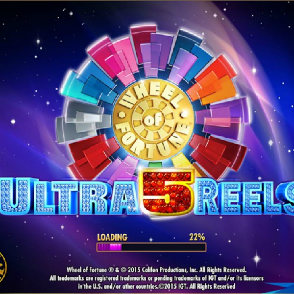 Wheel Of Fortune: Ultra 5 Reels Slot Features Multiple Bonus Wheels