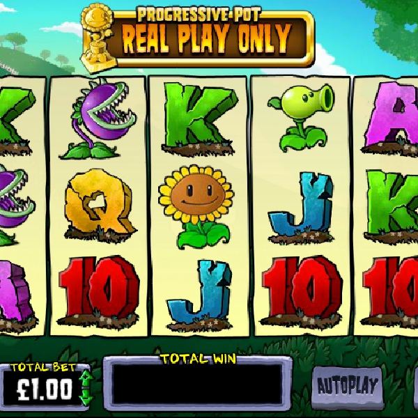 Plants vs Zombies Slot Brings the Game to the Reels