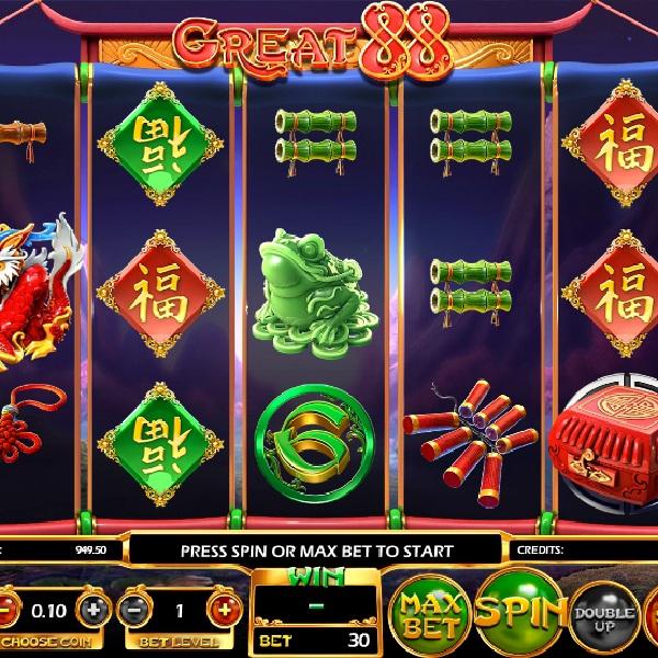 Great 88 Slot Features Five Random Bonuses