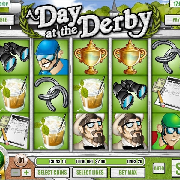 A Day at the Derby Slots Takes You to the Races