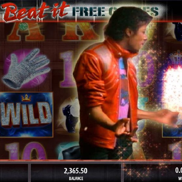 Michael Jackson King Of Pop Slot Features Wild Reels