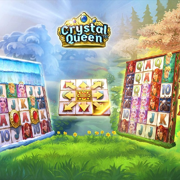 QuickSpin's Crystal Queen Slot Offers Up to 56 Paylines