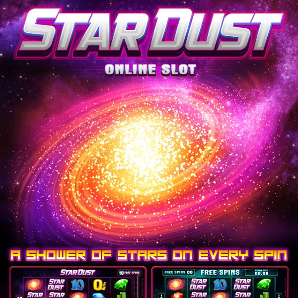 Stardust Slot Takes You to Outer Space for Winnings