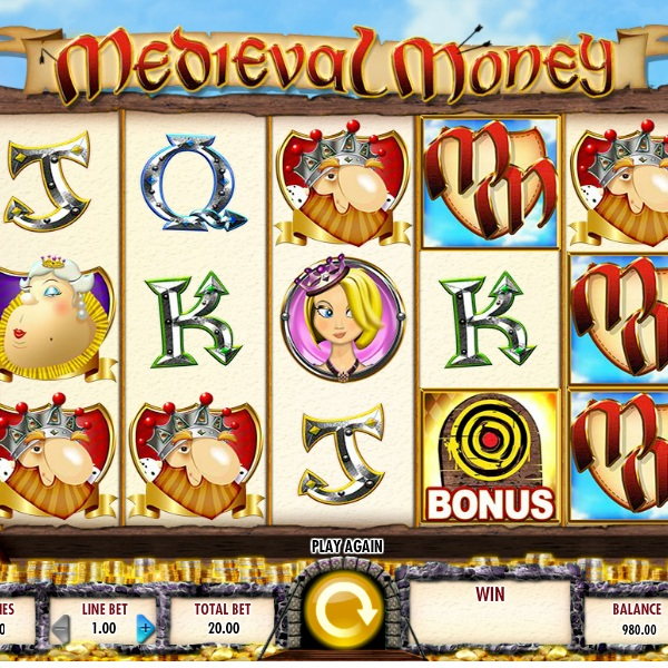 Medieval Money Slot Features Four Bonus Games