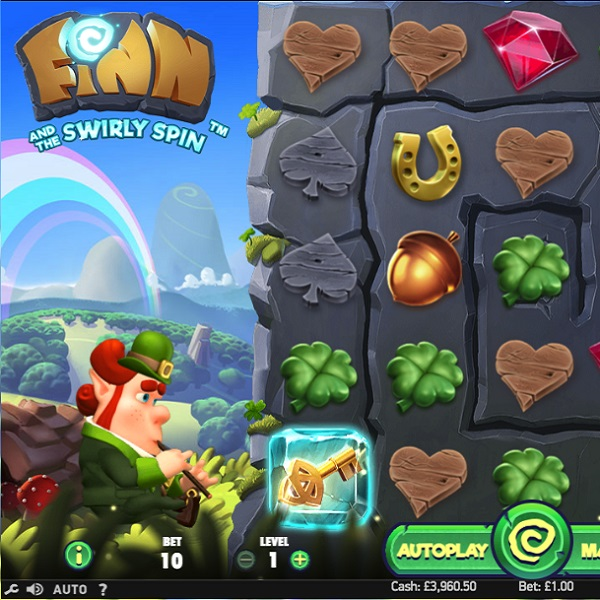 Finn and the Swirly Spin Slots Offers Masses of Bonus Features