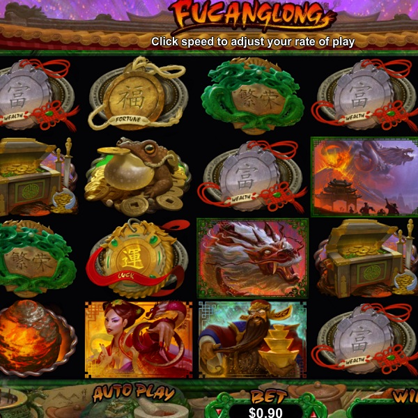 Fucanglong Slot Features Two Bonus Games