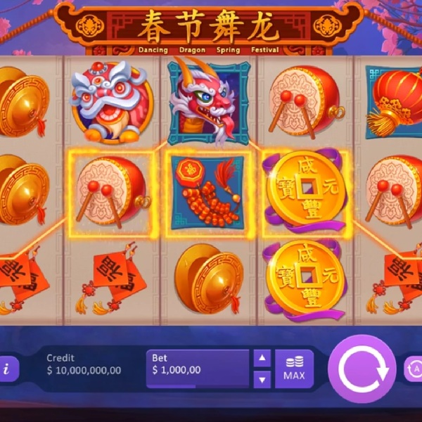 Dancing Dragon Spring Festival Slot Pays Out Both Ways