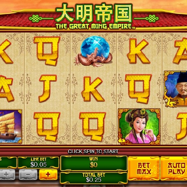 The Great Ming Empire Slot Offers Chinese Treasures