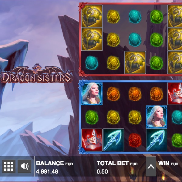 Dragons Sisters Slot Features Two Sets of Reels