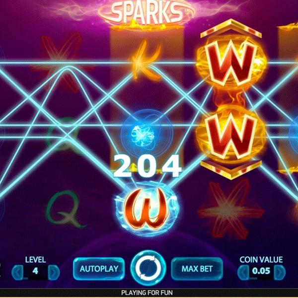 Net Entertainment's Sparks Slot Offers Fantastic Wild Wins