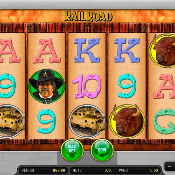 Rail Road Slot Takes You Journeying Across the Old West