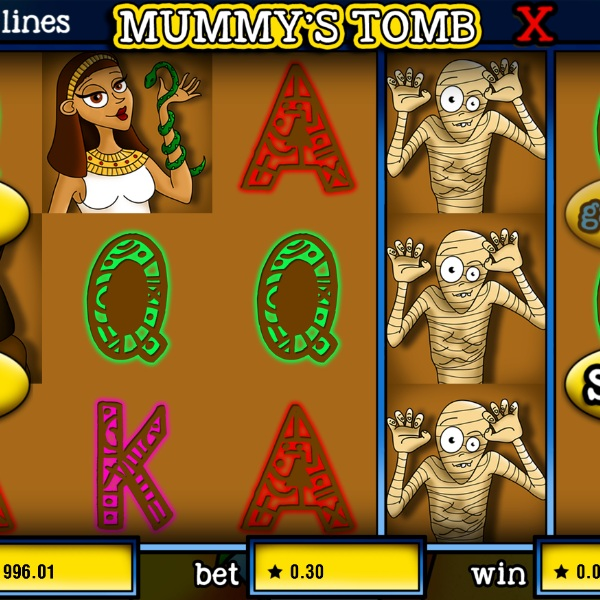 Mummy's Tomb Slot Features a Wild Fourth Reel