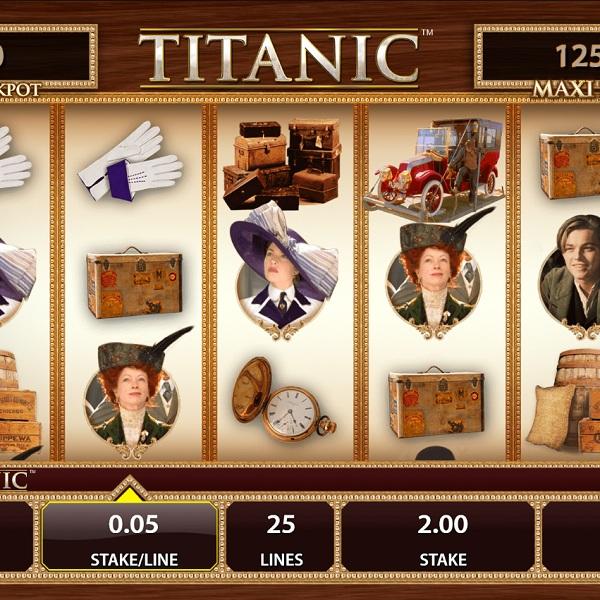 Titanic Slot Offers Masses of Bonus Features