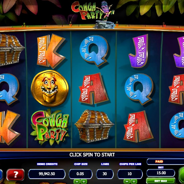 Dance to the Wins in Bluberi Gaming's Conga Party Slot
