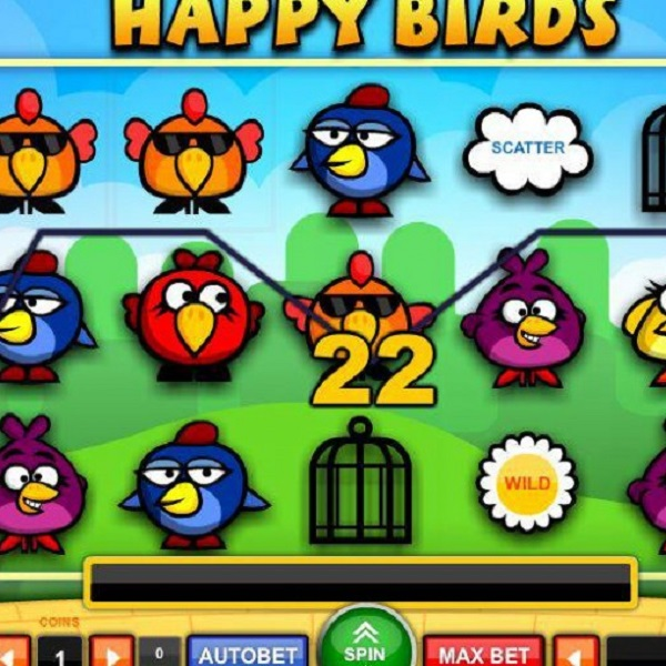 Happy Birds Slots Brings the Winnings Flying In
