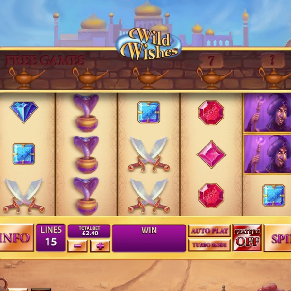 Wild Wishes Slot Grants You Multiple Free Spins
