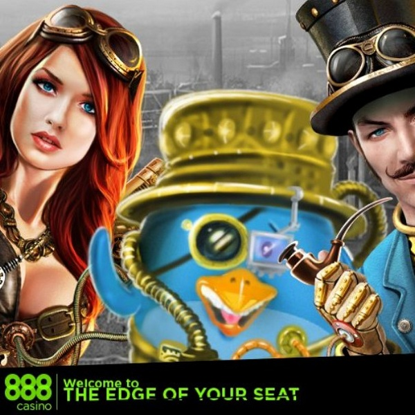 Steampunk Nation Slot Offers Huge Progressive Jackpot