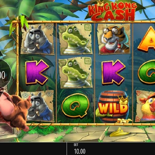 King Kong Cash Slot Features Nine Bonuses