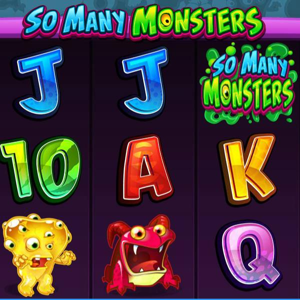 So Many Monsters Slot Game From Microgaming Offers Many Ways to Win