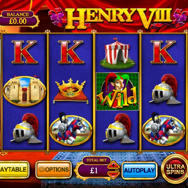 Henry VIII Slot Offers Royal Free Spins