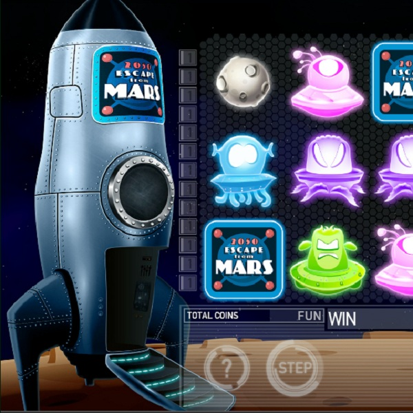 2050 Escape From Mars Slot Offers Outer Space Bonuses