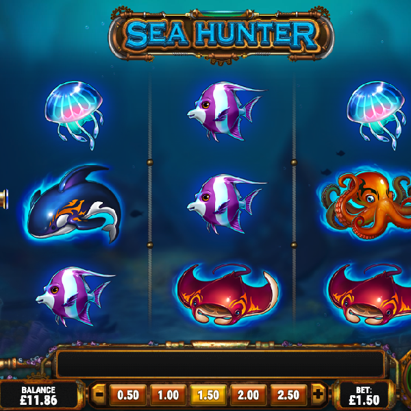 Sea Hunter Slots Takes You Diving For Big Wins