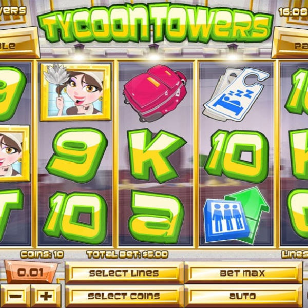Luxurious Winnings Available from Tycoon Towers Slot