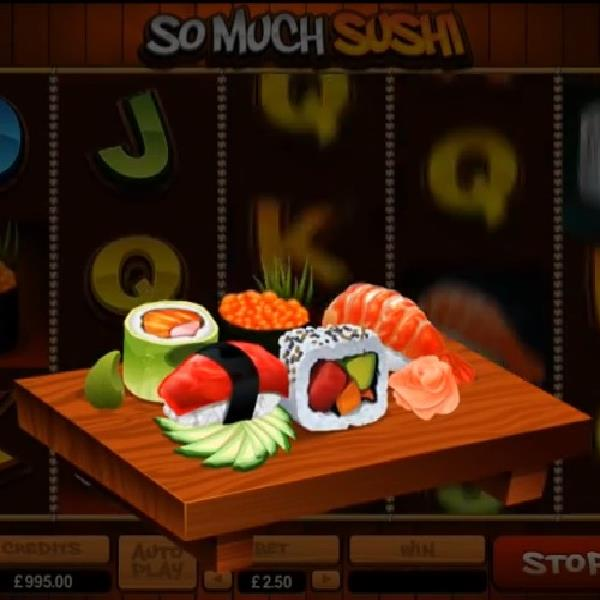 So Much Sushi Slot machine From Microgaming Offers 160,000 Coin Jackpot