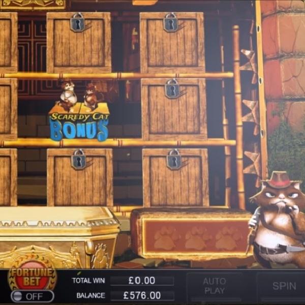 Two Fat Cats Slots Features Seven Bonus Games