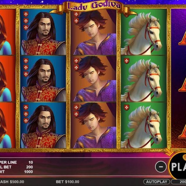 Lady Godiva Slots Brings The Story To Life