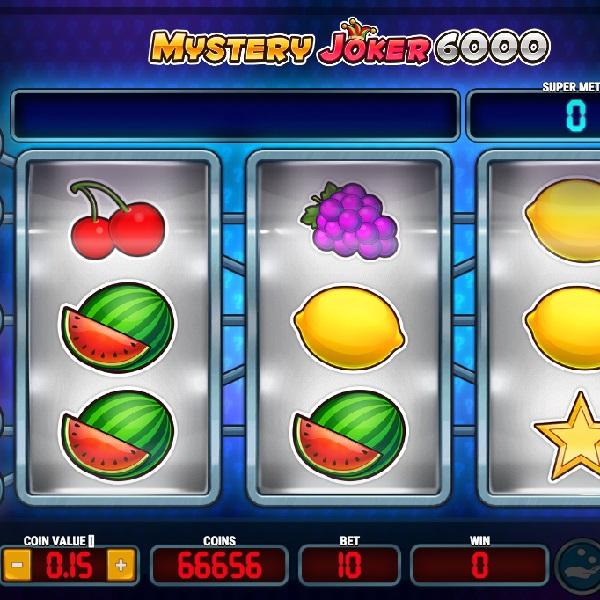 Mystery Joker 6000 Slot Offers Classic Fun and Big Winnings