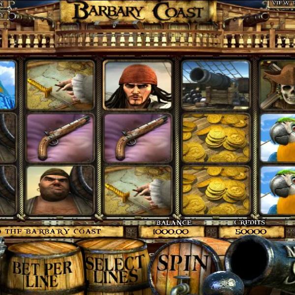 Barbary Coast Slot Features Five Pirate Bonus Games
