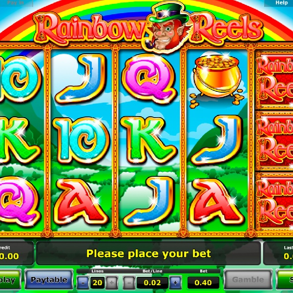 Rainbow Reels Slot Takes You to the Pot of Gold