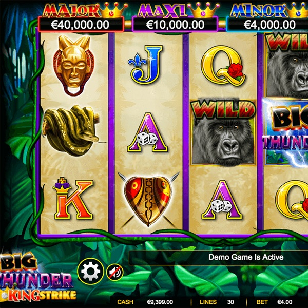 Big Thunder Slots Offers Sixth Reel Jackpots