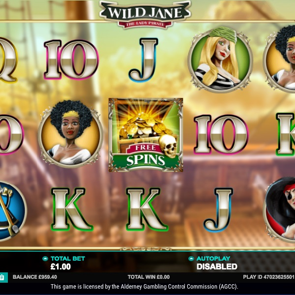 Wild Jane The Lady Pirate Slot Takes You on a Treasure Hunt