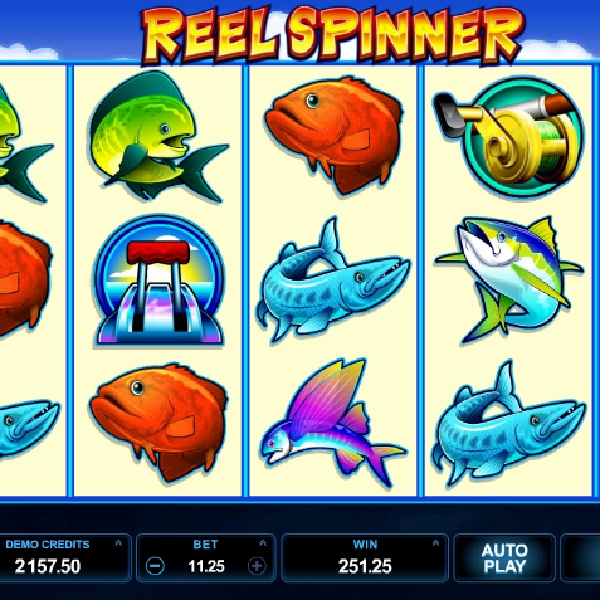 Reel Spinner Slot Takes You Fishing for Free Spins