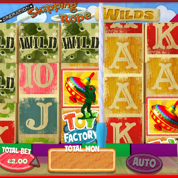 Toy Factory Slot Offers Childhood Fun with Progressive Jackpots
