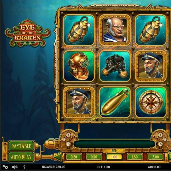 Eye of the Kraken Slot Brings Treasures from the Seabed