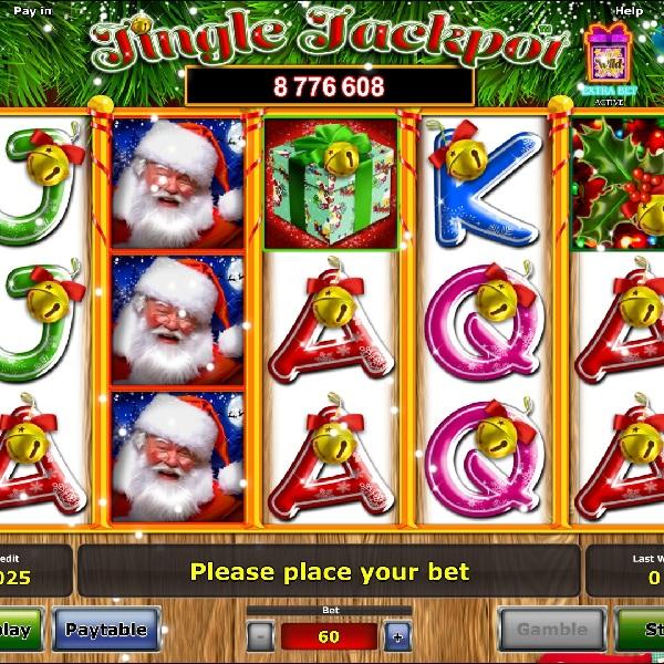 Jingle Jackpot Slot Features a Christmas Progressive Jackpot