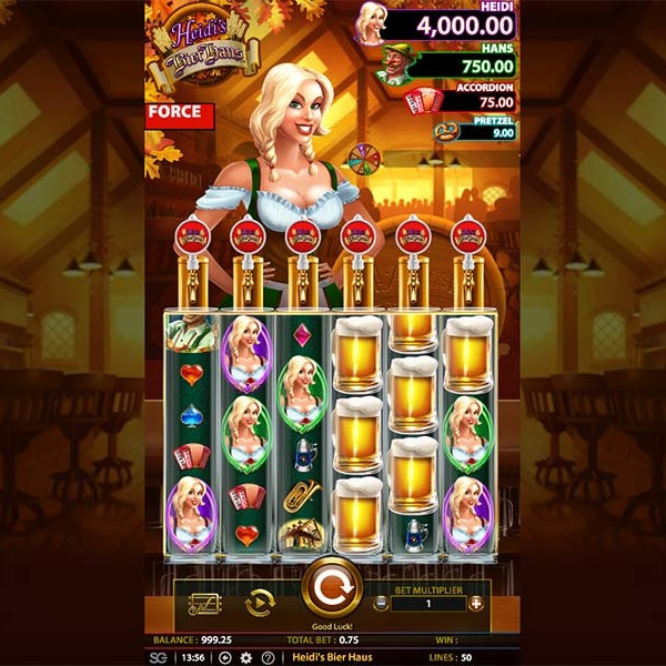 Heidi's Bier Haus Slots Gives You a Taste of Bavaria