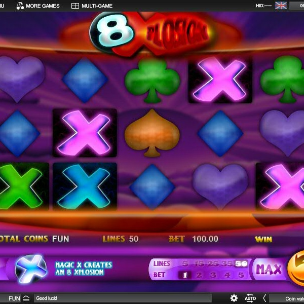 8 Xplosion Slot offers Free Spins with Special Bonuses